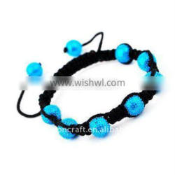 2012 fashion trendy beautiful shambala bracelets