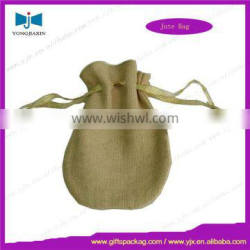Eco natural jute bags for coffee beans for storage