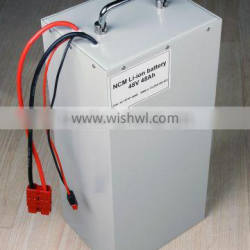 Factory Price 48V48AH Li-ion Battery For 2000W Electric Motorcycle / Scooter / Bicycle / Tricycle
