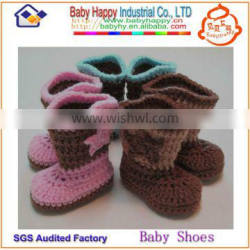 most popular hand crochet free knitting pattern baby shoes