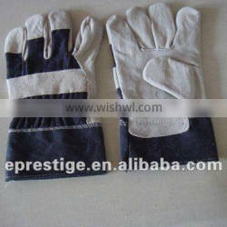"CE certified 10.5"" leather work gloves"
