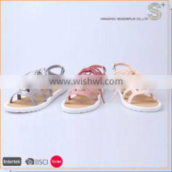New style cheap PVC flat casual jelly ladies shoes