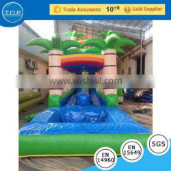TOP INFLATABLES Hot selling 2017 giant inflatable water slide for adult