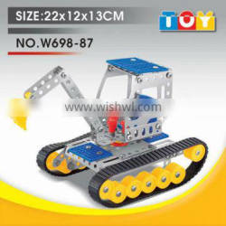 Most popular gift for child combined toy DIY scraper model
