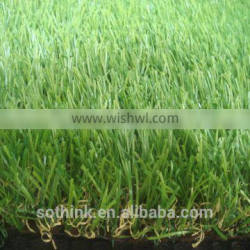 Hot sale 25mm four colors natural landscape grass for park with CE certificate