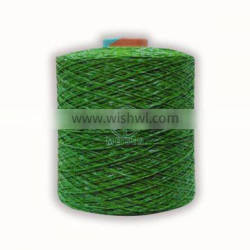 Artificial Grass Fibrillated Yarn For Soccer Turf