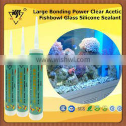 Large Bonding Power Clear Acetic Fishbowl Glass Silicone Sealant