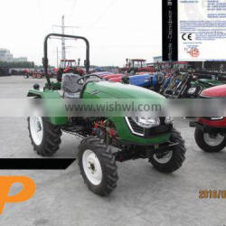 weifang CP machinery agricultural equipment 4x4 mini farm 40HP tractor with ce