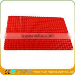 Silicone Non-stick Healthy Cooking Pyramid BBQ Grill Baking Mat