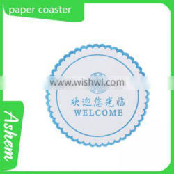 New arrival hot sale factory beer coaster with LOGO printing ,M-570