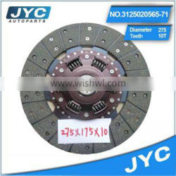 Best seller china truck truck clutch disc accessory clutch disc