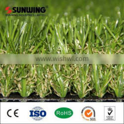 PE synthetic plastic artificial turf for swimming pool