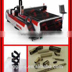 plate & tube Fiber metal Laser Cutting Machine with 1000W IPG laser generator
