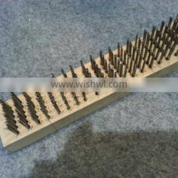2013 aliexpress hot selling nail plate of wire brush