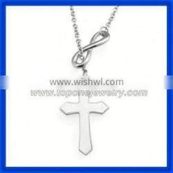 2014 sacred cheap stainless steel and silver cross pendant top No.1 China factory