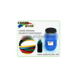 latex gloves dyeing pigment color dispersion