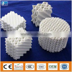 Ceramic corrugated plate column packing for Tower packing