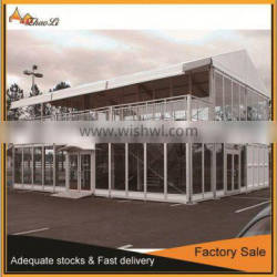 100 people party tent, large double storey tent for sale