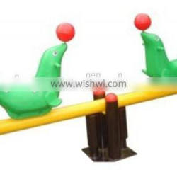 Lovely Dolphin playground seesaw for kids