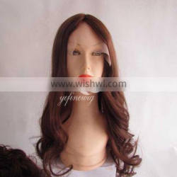 Hot selling brazilian remy hair lace front wig for woman and men