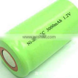 rechargeable sc ni mh battery