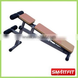 adjustable incline decline Sit Up Bench with leg extension standard fitness gym equipment