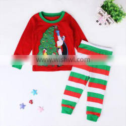 Popularity Kid Clothing Baby Clothes Cartoon Christmas Clothes Children