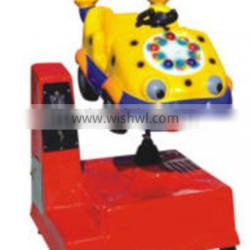 2014 new popular coin operated swing machine for kids