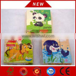 intelligent wooden puzzle/custom jigsaw puzzle/3d puzzle game VC-A012