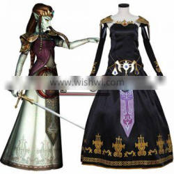 Game Legend of Zelda Twilight Princess's Dress for Adult Women Cosplay Costume Custom Made
