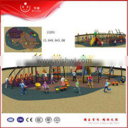 outdoor rope exercise playground equipment