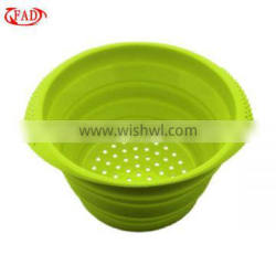 Leaky Bowl, Silicone Multifunctional Bowl, Kitchen Tool
