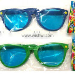 Party carnival big green blue funny glasses MPG-0059