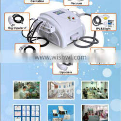 HOT IN EUROPE!! Pro liposuction cavitation with e-light (TUV,ISO,CE,SGS)