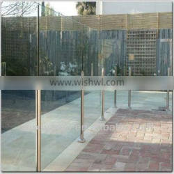 Fixed Security Outdoor Glass Fence