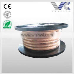 0AWG POWER CABLE FOR CAR,WITH CLEAR PVC