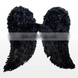 wholesale Party black big large Feather angel wings FW-0002