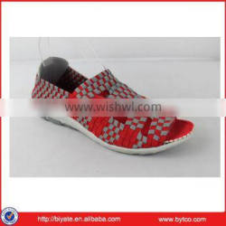 New model unisex woven shoes