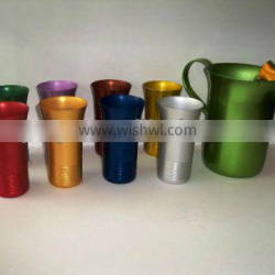 anodized cups anodized aluminium cup
