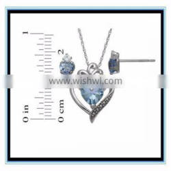 diamond lot wholesale indian bridal jewelry sets for jewelry setting XP-JS-0151