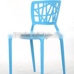 classic plastic leisure hollow out chair dining chair