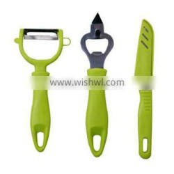 set of 3pcs knife set with pp handle