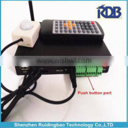 RDB Hot selling network media player with push buttons digital signage players DS009-100