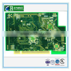 High frequency HDI with gold finger blank pcb