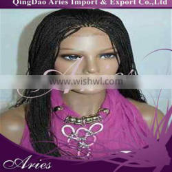2014Hot Selling Hand Made Braided Front Lace Wigs
