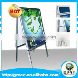 Good selling convenient waterproof aluminum display