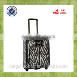 new design pu suitcase luggage travel bags