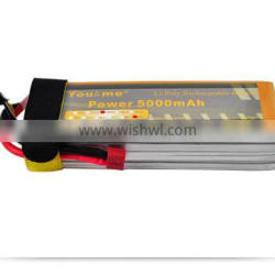 You&me 4S 50C Rechargeable Li-poly battery 5000MAH 14.8v for RC Drone CAR TRUCK