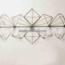 Iron Wire Art Decorations Diamond Decorations Vintage Wall Deco