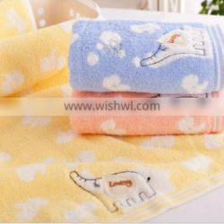 Wholesale Home Textile 100% Bamboo Fiber Kids face towels